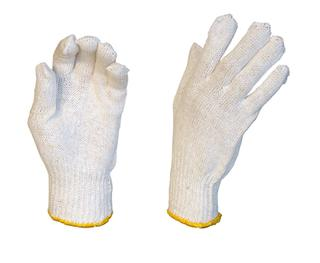 Gloves Poly/Cotton Liner Ambidextrous 7 Gauge
