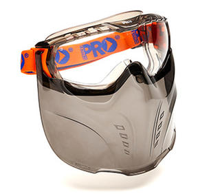 Goggle Visor Combination Vadar