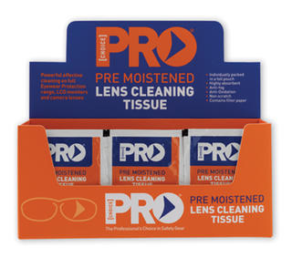 Lens Cleaning Wipes Box/100