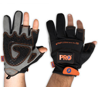 Gloves PRO-FIT MAGNA-TECH 2 Fingers & Magnetic Back