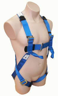 Full Body Harness with Lower Chest Loops SBE2K
