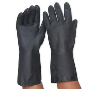 Glove Black Neoprene 33cm Length