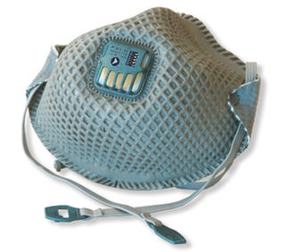 Masks Disposable Respirator PRO-MESH P2 With Valve Box/12