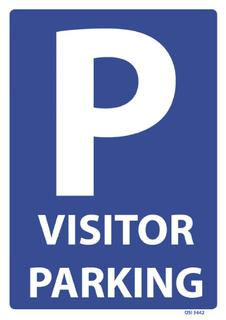 Visitor Parking 240x340mm