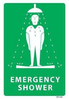 Emergency Shower 340x240mm