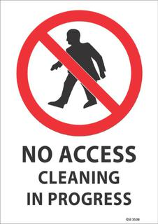 No Access Cleaning 340x240mm