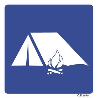 Camping 180 x 180mm