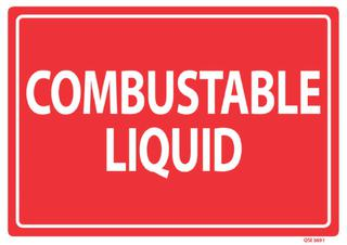 Combustable Liquid 240x240mm