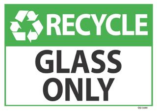 Recycle Glass Only 340x240mm