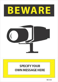 Beware Own message here 340x240mm