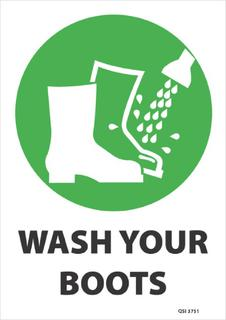 Wash your boots 340x240mm