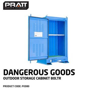 PRATT Dangerous Goods Outdoor Cabinets