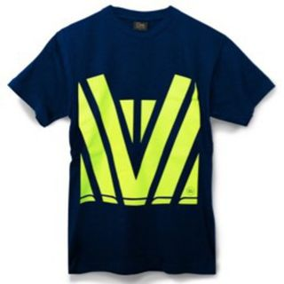 Hi Vis Tee Navy Yellow