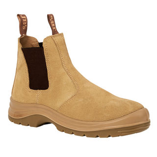 JB's Elastic Sided Safety Boot Sand
