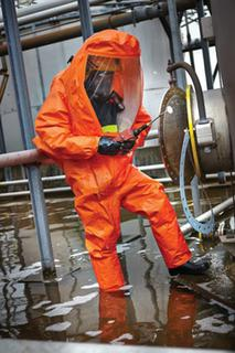 MICROCHEM 6000 Gas Tight Suit + Boots