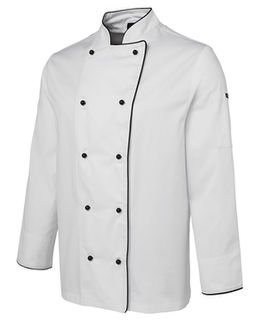 JB's Long Sleeve Chefs Jacket - Select Colour