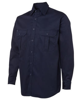 Work Shirt 190GSM Navy