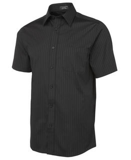 JB's Urban Poplin Shirt Black/White