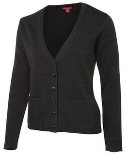 Ladies Knitted Cardigan - Select Colour