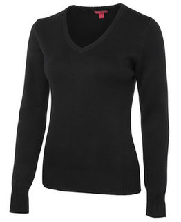 Ladies Knitted Jumper - Select Colour