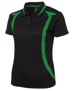 JB's Ladies Swirl Polo - Select Colour