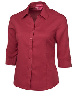 JB's Ladies 3/4 Polyester Shirt - Select Colour