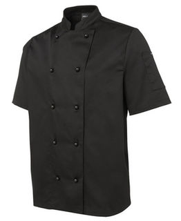 JB's Short Sleeve Unisex Chefs Jacket - Select Colour