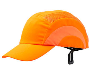 Bump Cap Standard Peak - Fluoro/Orange