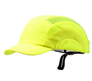 Bump Cap Short Peak - Fluoro/Lime
