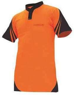 Protex 145g Cotton Back Day Only Polo Orange Navy
