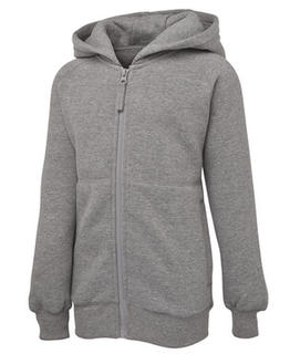 Full Zip Fleecy Hoodie - Select Colour
