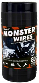 'MONSTER' Wipes - Tub of 80