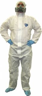 SureShield SMS Coveralls White