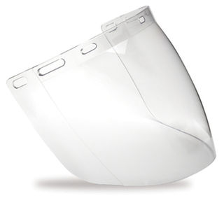 Tuff Shield High Impact Visor Clear