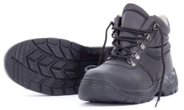 Bison Duty Lace Up Leather Safety Boots