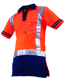Protex Qwikdri DN Polo Orange Navy