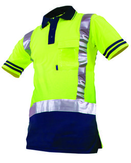 Protex Qwikdri DN Polo Yellow Navy