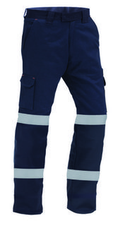 TWZ RIPSTOP 210gsm 100% Cotton Tape Trouser Navy