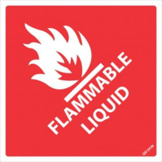 Flammable Liquid - 250mm x 250mm