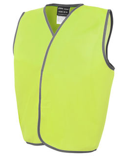 Kids Hi Vis Vests Range Lime