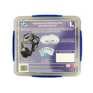 STS Full Face Hazardous Particulate Respirator Kit