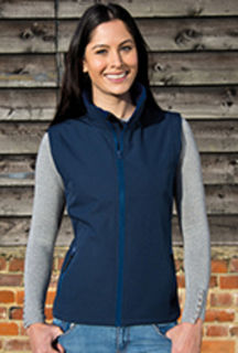 Ladies Printable Soft Shell Vest