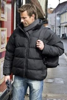 Holkham Puffer Jacket Black