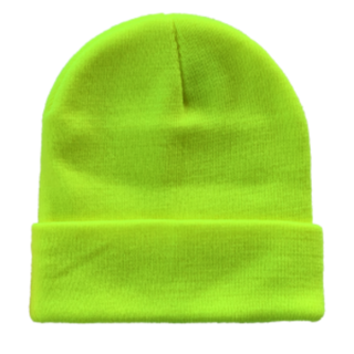 Acrylic Knitted Fluro Beanie