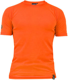 Argyle Performance T-Shirt Orange