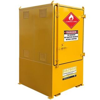 HAZBOX' Single IBC Flammable Storage Unit 1000L