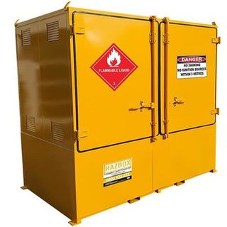 HAZBOX Twin IBC Flammable Storage Unit 2000L