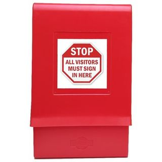 SDS Outdoor Document Box Red