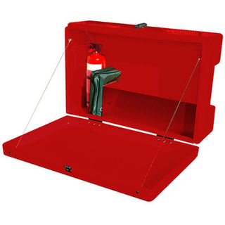 SDS Outdoor Site and Safety Box Red