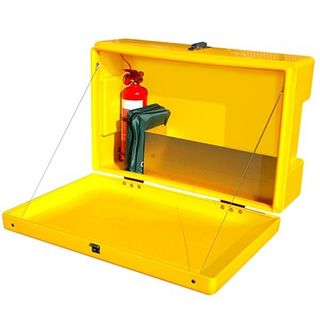 SDS Outdoor Site and Safety Box Yellow
